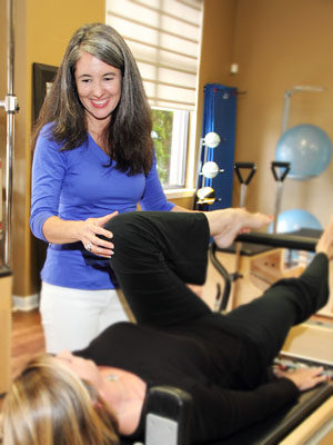 Atlanta Physical Therapy pilates instructor